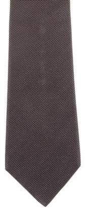 Christian Dior Silk Jacquard Tie