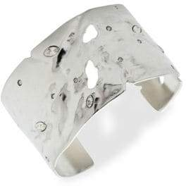 Alexis Bittar 10K Gold-Plated& Crystal Lace Orbiting Cuff