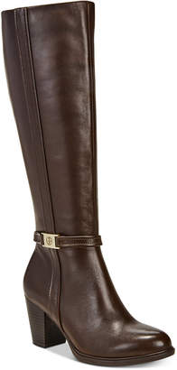 Giani Bernini Raiven Wide-Calf Memory Foam Dress Boots, Created for Macy's