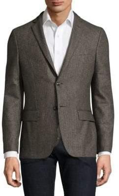 Officine Generale Paul Houndstooth Wool Sportcoat