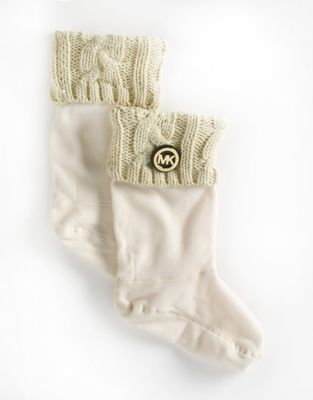 MICHAEL Michael Kors Fleece Cuff Socks