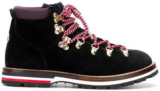 Moncler lace up ankle boots