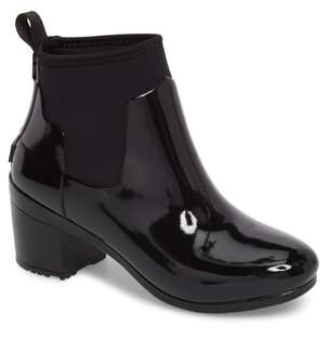 Hunter Refined Gloss Chelsea Rain Bootie