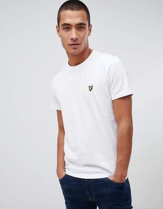 Lyle & Scott logo t-shirt in white