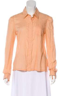 Marc Jacobs Striped Button-Up Top