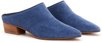Aquatalia Fife Waterproof Suede Mule