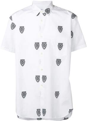 Comme des Garcons printed button down shirt