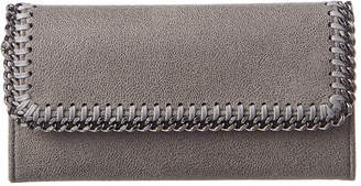 Stella McCartney Falabella Shaggy Deer Continental Wallet