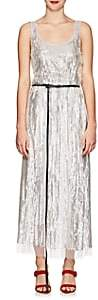Marc Jacobs Women's Sequined Belted Midi-Dress - Silver