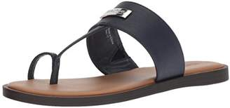 Kenneth Cole Reaction Women's Scroll in Flat Sandal with Toe Ring
