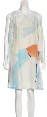 Maison Margiela Silk Printed Dress multicolor Silk Printed Dress