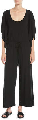Rachel Pally Roland Dramatic-Sleeve Jersey Jumpsuit, Plus Size