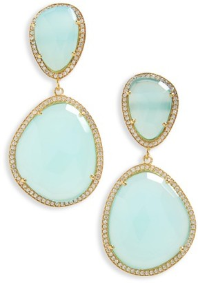 Women's Susan Hanover Semiprecious Stone Drop Earrings $195 thestylecure.com