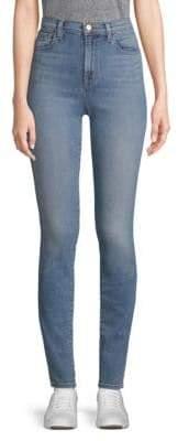 J Brand Carolina Super Hi-Rise Skinny Jeans