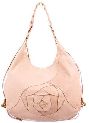 Valentino Braided Leather Hobo
