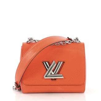 Louis Vuitton Twist Orange Leather Handbag