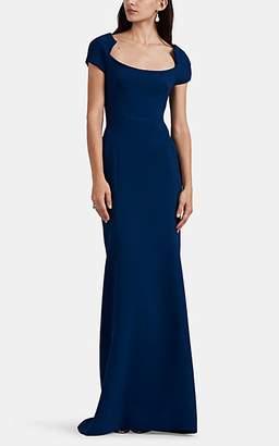 43e4a1ba522 Zac Posen Women s Bonded Crepe Gown - Navy