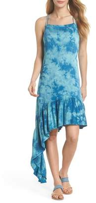 Green Dragon Crystal Forest Clementine Cover-Up Dress