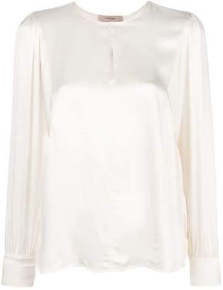 Twin-Set keyhole blouse