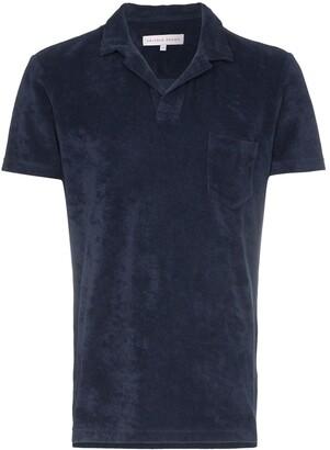 Orlebar Brown terry cloth polo shirt