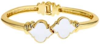 Fornash White Enamel Bracelet