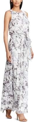 Chaps `Women's Floral Maxi Dress