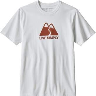 Patagonia Live Simply Winding Responsibili-T-Shirt - Men's