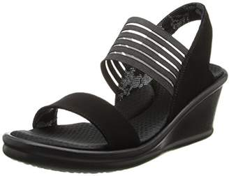 Skechers Cali Women's Rumbler Sci-Fi Wedge Sandal $32.95 thestylecure.com