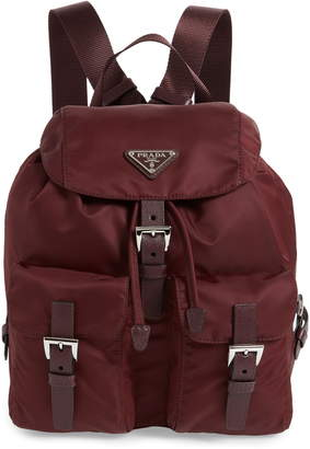 Prada Medium Nylon Backpack