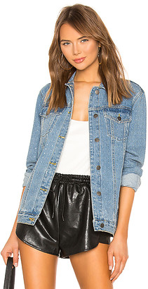 superdown Alyssa Crystal Denim Jacket