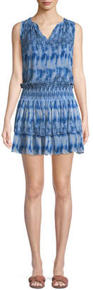 Ramy Brook Jordana Printed Sleeveless Mini Dress