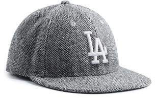 Todd Snyder + New Era Exclusive New Era LA Dodgers Hat In Abraham Moon Herringbone Lambswool