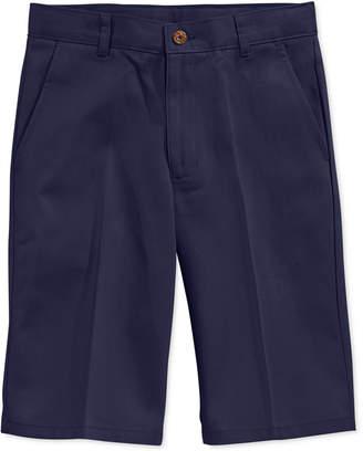 Nautica (ノーティカ) - Nautica Uniform Flat Front Twill Slim Shorts, Big Boys