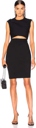 Alexander Wang Compact Shoulder Twist Dress