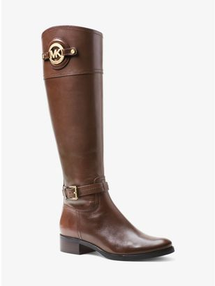 Stockard Leather Boot $295 thestylecure.com