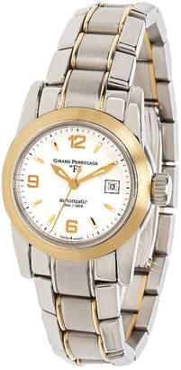 Girard Perregaux Black gold and steel Watches
