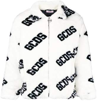 Gcds fur bomber jacket