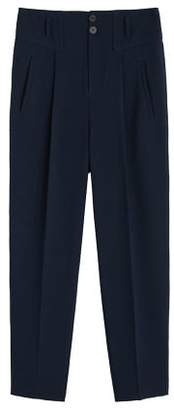 MANGO High-waist suits trousers