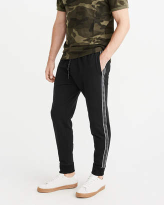 Abercrombie & Fitch Side-Stripe Joggers