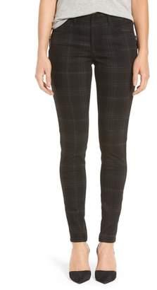 Wit & Wisdom Ab-solution Side Zip Plaid Skinny Pants