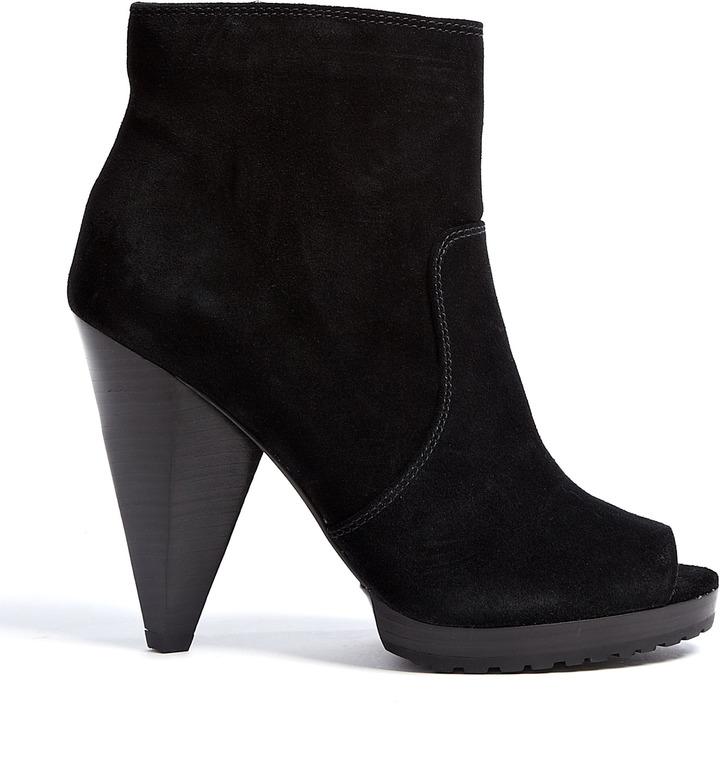 MICHAEL Michael Kors Black Suede Codie Ankle Boots