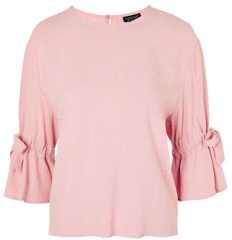 Topshop Topshop Tie sleeve casual t-shirt