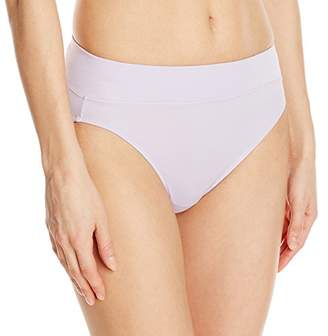 Warner's Women's No Pinching. No Problems. Tailored Microfiber Hi-Cut Brief $9.94 thestylecure.com