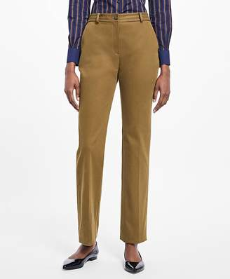 Stretch-Cotton Twill Pants $198 thestylecure.com
