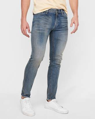 Express Skinny Medium Wash Soft Cotton Stretch Jeans