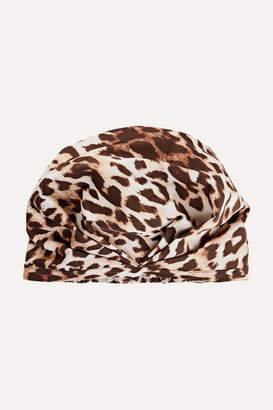 SHHHOWERCAP - The Minx Leopard-print Shower Cap - Leopard print