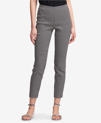 DKNY Printed Slim-Fit Pants, Created for Macy's