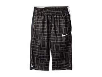 Nike Dry Elite Stripe Print Basketball Short (Little Kids/Big Kids)