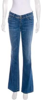Hudson Low-Rise Wide-Leg Jeans