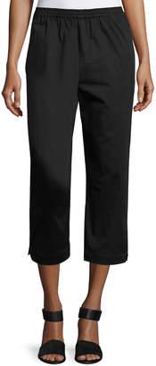 eskandar Cropped Narrow Trousers
